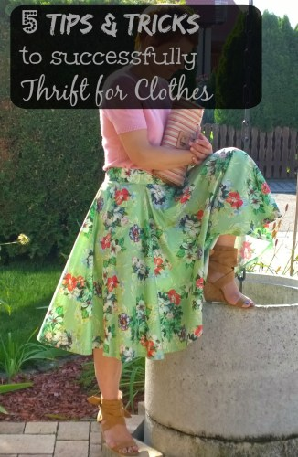 5 tips for thrifting
