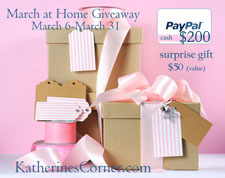 march at home giveaway