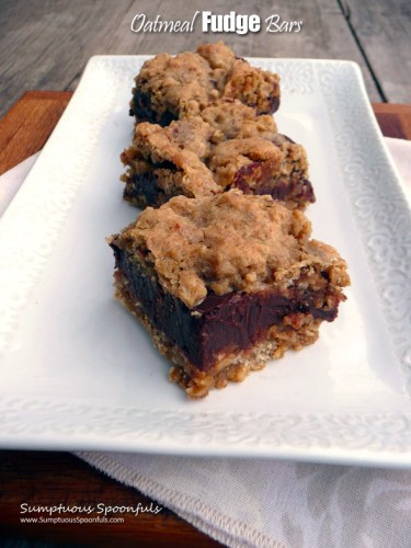 Oatmeal-Fudge-Bars