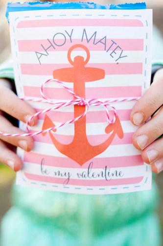 diy valentine treat bags