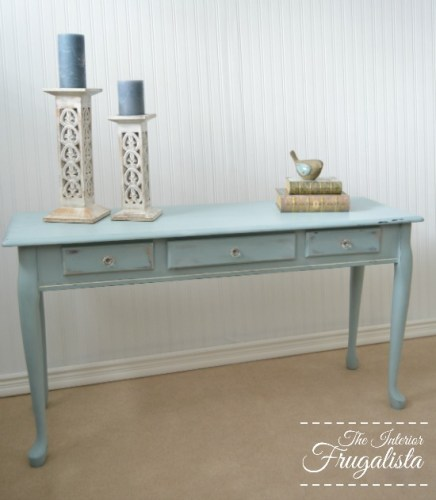 sofa table makeover