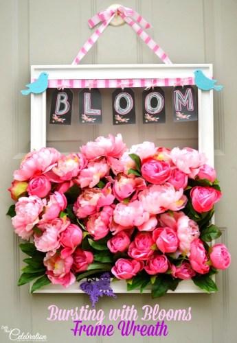 bloom door wreath