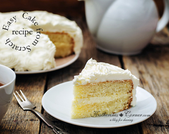 easy made from scratch cake recipe