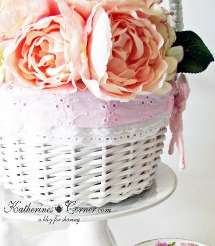flowers in easter basket katherines conrer