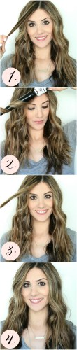 diy boho waves hair tutorial