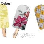 popsicle colors home decor