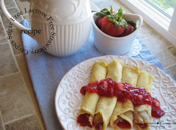 sugar free lactose free strawberry crepes-katherines corner