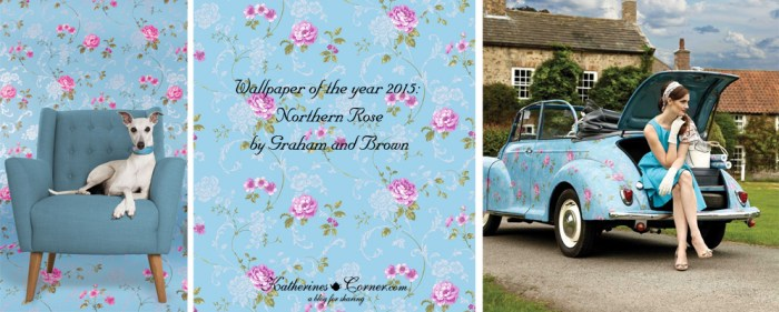 wallpaper of the year northern rose-graham and brown