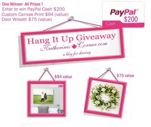 hang it up giveaway