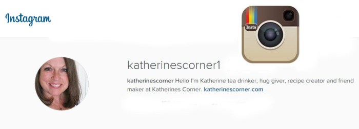 katherines corner on instagram