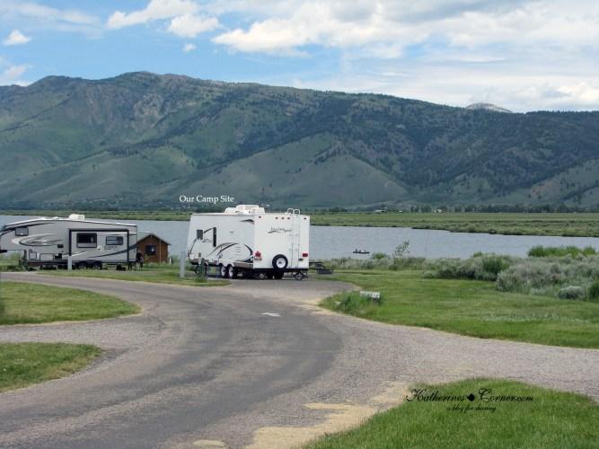 camping at henry lake