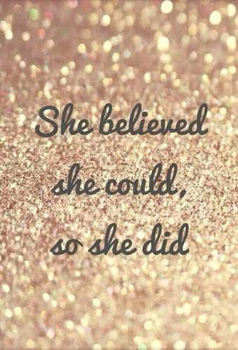 She-believed-she-could