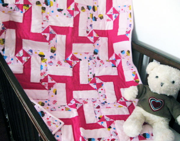bundle of joy giveaway quilt