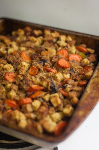 herb and mushroom stuffing