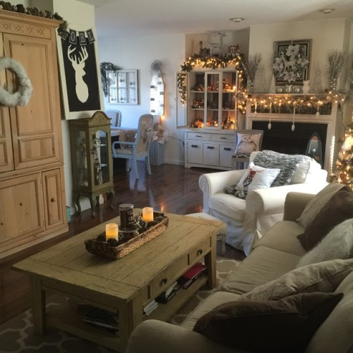 crafty holiday home tour