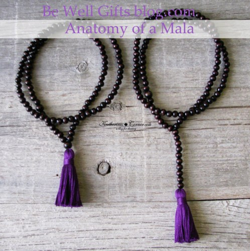 learning the parts of a mala