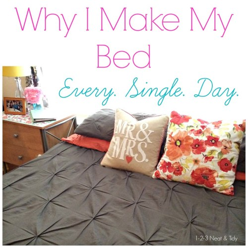 why I make my bed every day