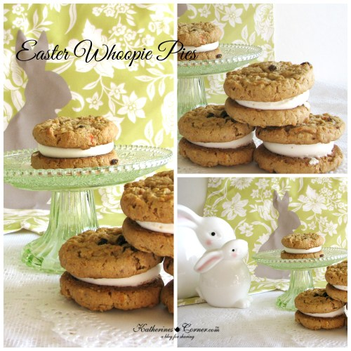Easter whoopie pies, carrot recipes