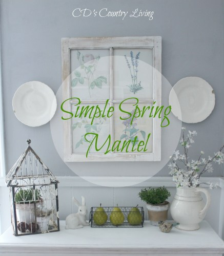 easy spring mantle