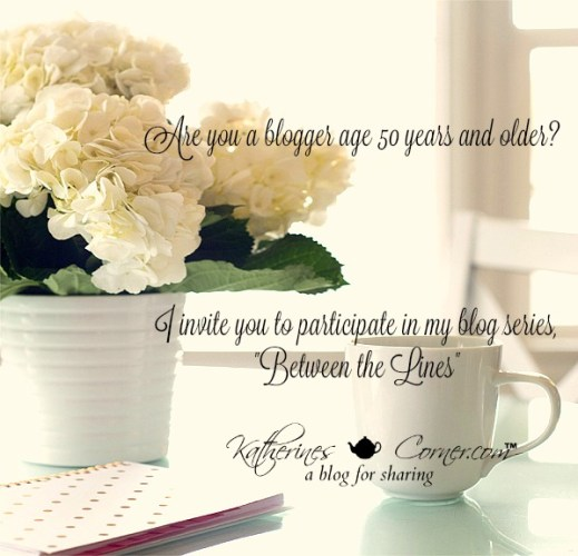 are you a blogger age 50 or older,
