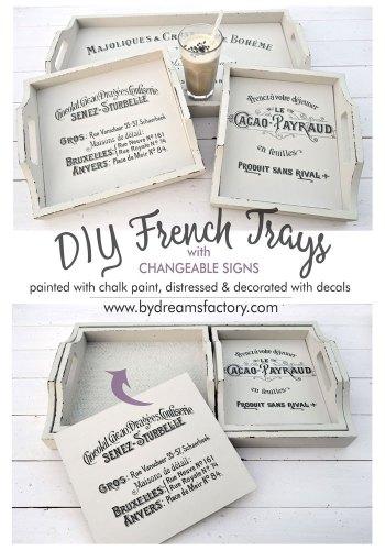 diy French trays