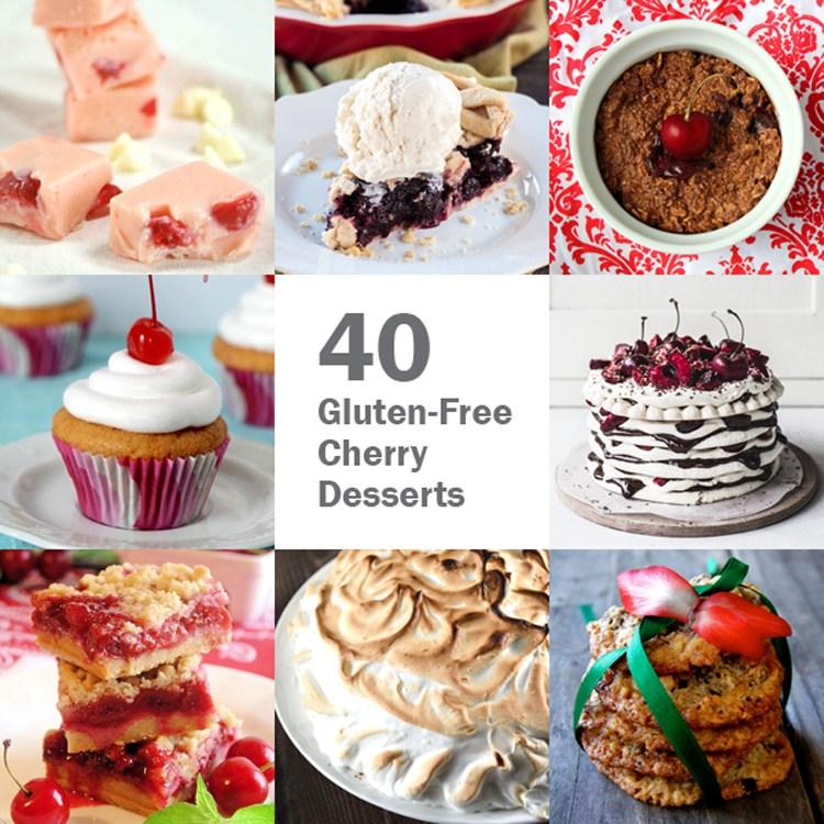 gluten free cherry recipes