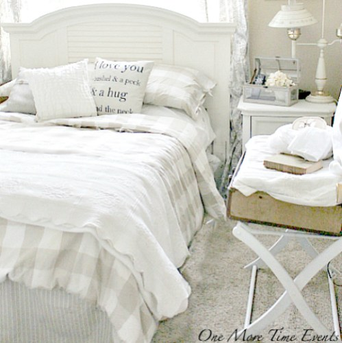 guest room on a budget