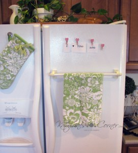 easy diy tea towel holder