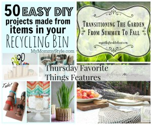 just a few projects thursday favorite Things