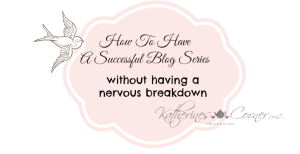 how to have a successful blog series