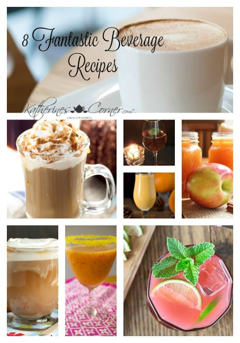 8 beverage recipes you will wnt to try now katherines corner