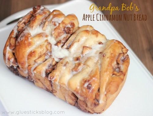 apple cinnamon nut bread recipe