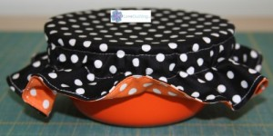diy how to make a bowl bonnet