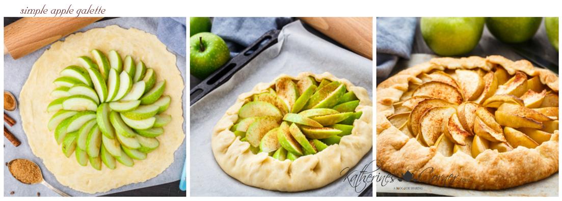 apple season lets make a galette