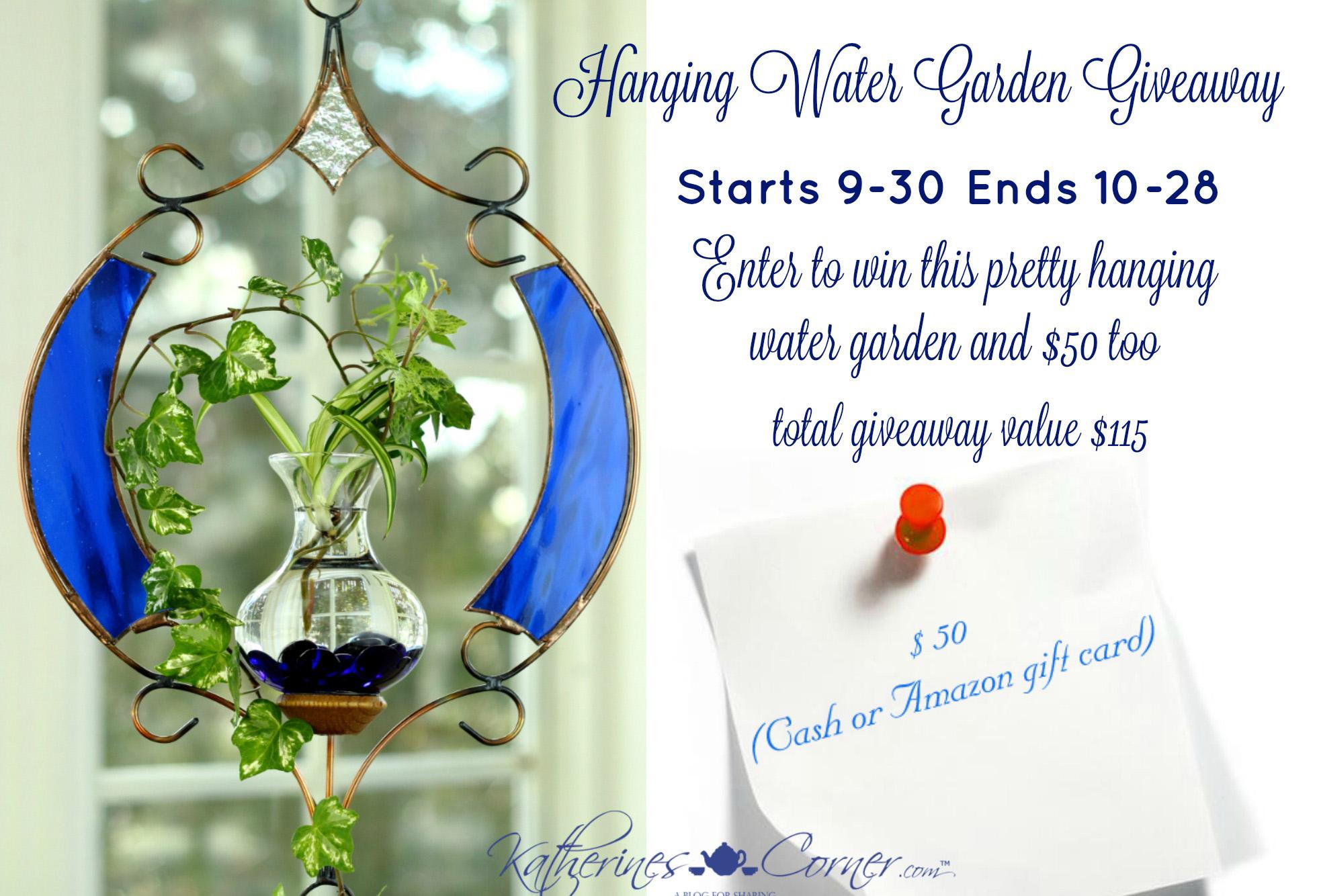 Water Garden Giveaway