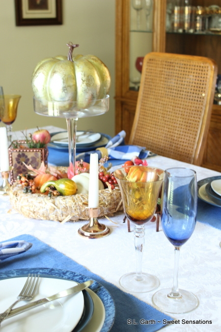 table setting for fall