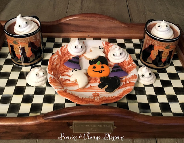 diy halloween ghost treats