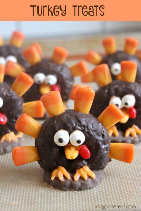 turkey donut desserts