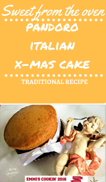 piece of cake traditional Italian Christmas cake