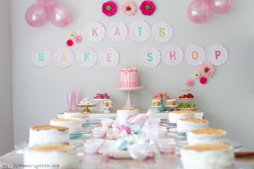 little girls birthday party idea