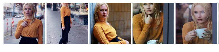 yellow ochre sweater
