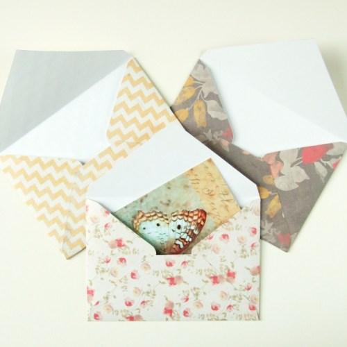 diy envelopes