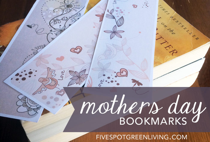 mothers day printable bookmarks