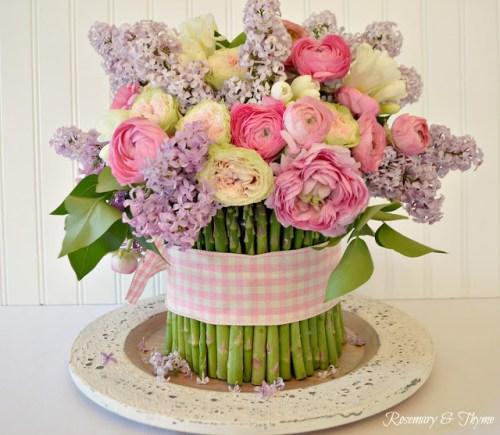 spring flower arrangement diy