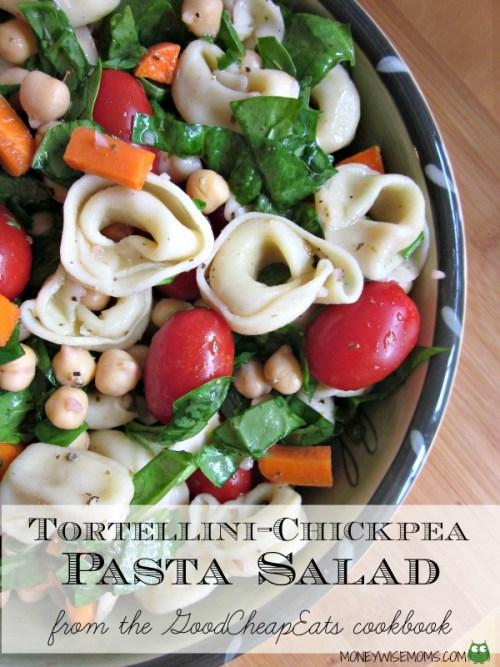Tortellini-Chickpea-Pasta-Salad