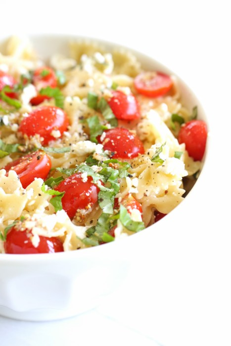 pasta salad for a barbecue