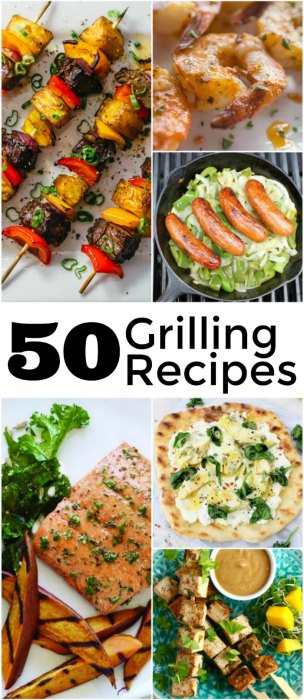 50 perfect barbecue grilling recipes