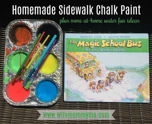 diy chalk paint for kids