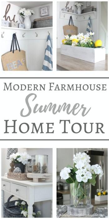 summer farmhouse home tour