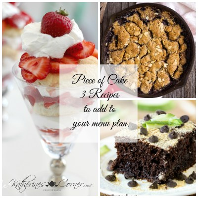 Piece of Cake Monday Inspiration
